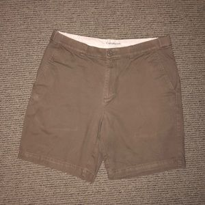 Croft & Barrow khaki shorts. Mens 34